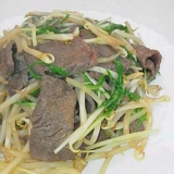 チャチャッと焼き肉炒め~一味マヨ付き~
