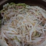 白菜&豚肉&もやし鍋