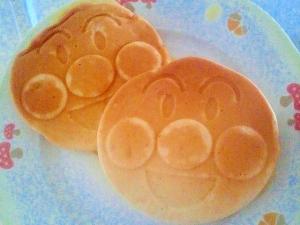 【幼児食】バナナとカボチャのホットケーキ