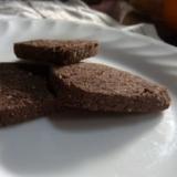 ココア粉豆腐クッキー