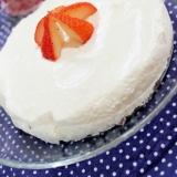 手作りクリームチーズで低カロリー♪レアチーズケーキ