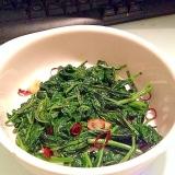 空心菜のナンプラー炒め