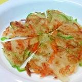 【離乳食】しらす&玉ねぎのチヂミ