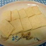 卵・バター不使用★強力粉でサブレ風クッキー