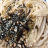 高菜とお茶漬けの和風スパゲティ