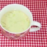 白菜のカレー豆乳スープ♪