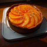 オレンジ&チョコレートタルト