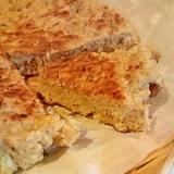 フライパンで簡単!くるみとバナナのお豆腐パン