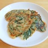 信州の家庭料理   ~   ニラせんべい