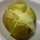 レンジで作る男爵芋のホワイトパスタソースかけ