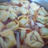ラビオリのトマトスープ