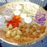 「自家製」切り干し大根と、干し野菜の作り方。