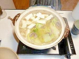猪鍋、味噌煮込み