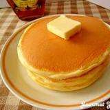 我が家のフカフカ♡ホットケーキ