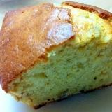 バター不要☆簡単バナナとクルミのパウンドケーキ