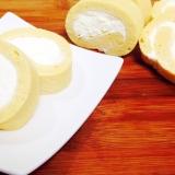 低糖質☆レンジで作るロールケーキ
