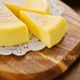 HMとレンジで超簡単即効5分♡本格濃厚チーズケーキ