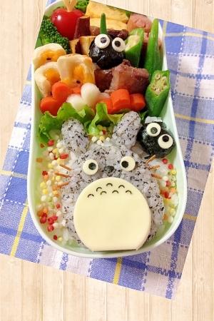 トトロのお弁当♪ レシピ
