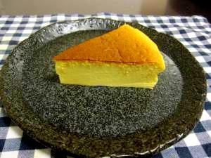 ヨーグルト入りスフレチーズケーキ