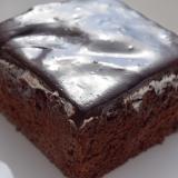 トルコのお菓子★チョコレートソースの泣きむしケーキ