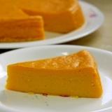 ミキサー使って簡単かぼちゃのチーズケーキ