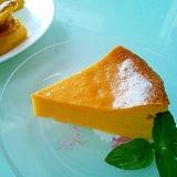 混ぜ混ぜ☆簡単パンプキンプリンケーキ