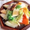 野菜がたっぷり頂ける「八宝菜」