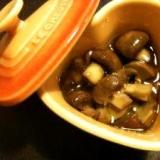 マッシュルームのアヒージョ(ガーリックオイル煮)