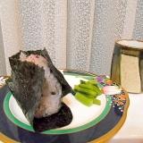 古代米の鮭おにぎり