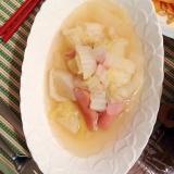 冬野菜でポトフ!白菜と大根の簡単ポトフ