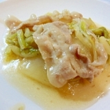 簡単☆白菜と豚肉のあんかけ煮