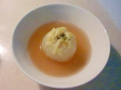 シンプルまるごと玉ねぎスープ