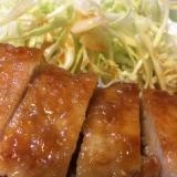 豚ロースでがっつり生姜焼き!!