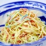野菜たっぷり! スパゲティサラダ