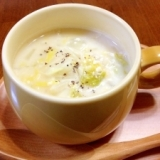酒粕と白菜☆スープ