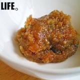 青唐辛子の辛い味噌。