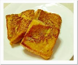 しょうがと豆乳のフレンチトースト