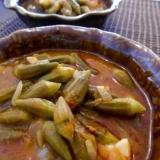 トルコ料理★とろとろオクラ煮込み