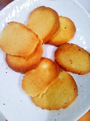 【糖質制限】クリームチーズとアーモンドのクッキー