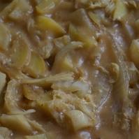 ジャガイモと白菜のトロ煮