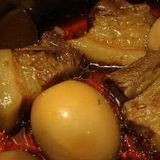 豚の角煮 圧力鍋使用