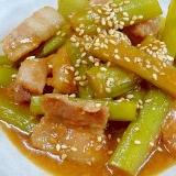 山菜好きにおすすめ☆ 「山ウド味噌炒め煮」
