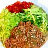 ジャージャー麺 レシピ/20分