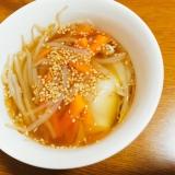 体ポカポカ餃子スープ