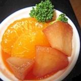 蜜柑寒天リンゴデザート