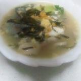 簡単、焼きネギといちご煮の卵とじ