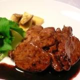 簡単で美味しい!塩麹漬け豚ヒレ肉バルサミコソース