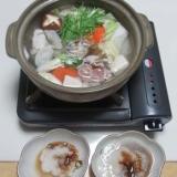 フグと鶏肉の水炊き鍋