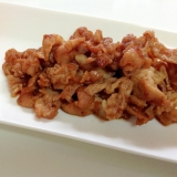 定番家庭料理*豚肉の生姜焼き*