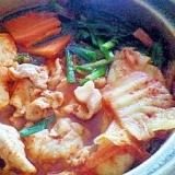 1人鍋♪キムチ鍋
